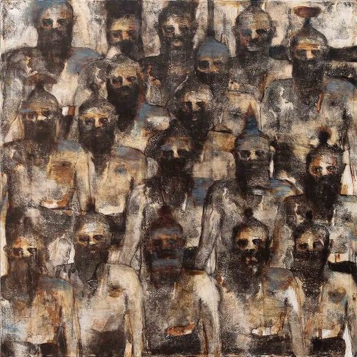 ahmetsari, cepgallery, contemporary, art, artwork, chorus, sold, resim, sanat, gallery,