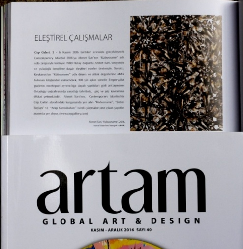 artam global, art & design, contemporaryistanbul, cepgallery,